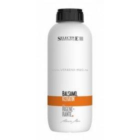 SELECTIVE PROFESSIONAL - Shampoo Keratin Rigenerante Шампунь кератиновый, 1000 мл