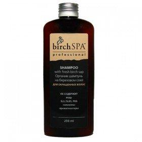 ANGEL PROFESSIONAL Birch Spa Шампунь для окрашенных волос на березовом соке, 250 мл