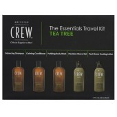 AMERICAN CREW Трэвел-набор  Tea Tree Essentials Travel Kit, 5 х 50 мл