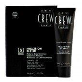 AMERICAN CREW Краска для седых волос Темный натуральный 2/3 Precision Blend, 3х40 мл