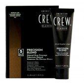 AMERICAN CREW Краска для седых волос Средний пепельный 5/6 Precision Blend, 3х40 мл