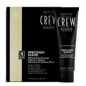 AMERICAN CREW Краска для седых волос Блонд 7/8  Precision Blend, 3х40 мл