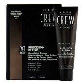 AMERICAN CREW Краска для седых волос Средний натуральный  4/5 Precision Blend, 3*40 мл