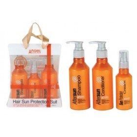 Angel Professional набор  «Защита от солнца», 200 мл + 200 мл + 100 мл