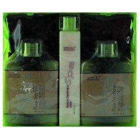 Angel Professional SPA Набор для поврежденных волос с маслом  Розы, 2х300 мл, 1х150 мл