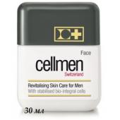 CELLMEN  Клеточный ревитализирующий крем для лица для мужчин (с вакуумной помпой) Revitalising Cellular Skin Care for Men, 30 мл