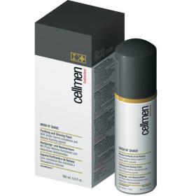 CELLMEN  Пена для очищения кожи и бритья   Wash N`Shave Purifying and Shaving Foam, 150 мл