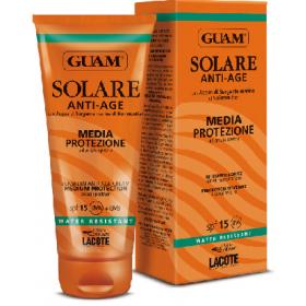 Guam Крем солнцезащитный SPF15 Гуам SOLARE ANTI-AGE, 150 мл