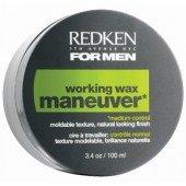 Redken For Men воск средний контроль для подвижной укладки, 100 мл