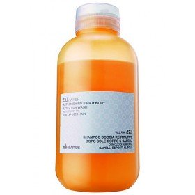 Davines шампунь увлажняющий для тела и волос SU / WASH, 250 мл