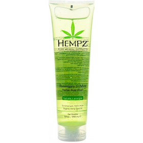 Hempz - Гель для душа бодрящий - Body Wash - Rosemary Mint, 265 мл