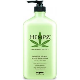 Hempz - Молочко для тела увлажняющее с огурцом и жасмином - Cucumber Jasmine Moisturizer, 500 мл