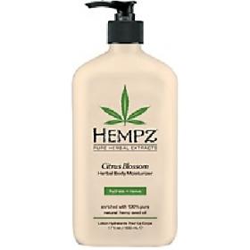 Hempz - Молочко для тела увлажняющее с лимоном - Citrus Blossom Herbal Body Moisturizer, 500 мл