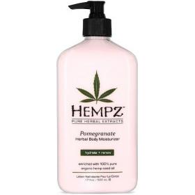 Hempz - Молочко для тела увлажняющее с гранатом - Pomegranate Herbal Body Moistyrizer, 500 мл