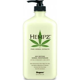 Hempz - Молочко для тела антивозрастное увлажняющее - Age Defying Moisturizer, 500 мл