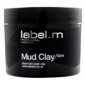 LABEL. M MUD CLAY - Глина Моделирующая (Лебел М), 50 мл