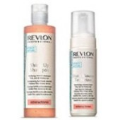 REVLON PROFESSIONAL - Набор Shine Up: Шампунь витамин., 250 мл + Мусс д/бл., 150 мл