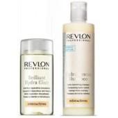 REVLON PROFESSIONAL - Набор Hydra Resсue: Шампунь увлажняющий питательный, 250 мл + Концентрат Brilliant, 125 мл