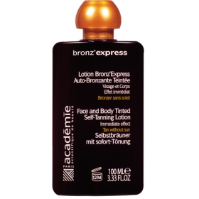 ACADEMIE - Лосьон-автозагар (лицо/тело) Bronz'xpress, 100 мл