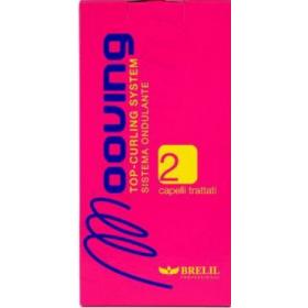BRELIL - Набор для завивки окрашенных волос - Mooving Kit 2 Treated Hair, Набор: 4 шт