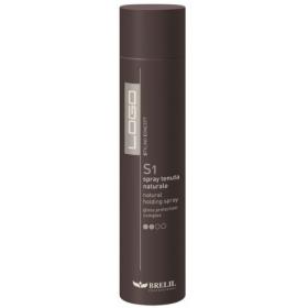 BRELIL - Сухой спрей для волос нормальной фиксации - Logo S1 -  Natural Holding Spray, 300 мл