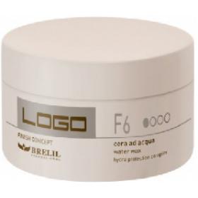BRELIL - Воск легкой фиксации на водной основе - Logo F6 - Water Wax, 100 мл