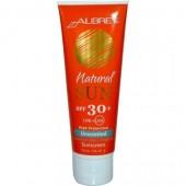 AUBREY ORGANICS - Солнцезащитный крем SPF 30 без запаха для детей, 118 мл