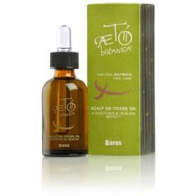 BAREX ITALIANA - Экстракт масел экзотических растений для поврежденной кожи головы - Scalp De-toxer oil, 30 мл