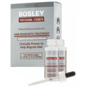 BOSLEY - Усилитель роста волос для женщин - HAIR REGROWTH TREATMENT Regular Strength for Women 2%, 60 мл*2