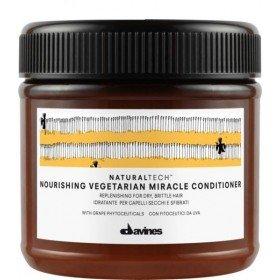 Davines - NOURISHING VEGETARIAN MIRACLE - кондиционер восстановление для сухих, поврежденных волос, 250 мл