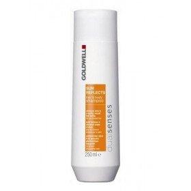 GOLDWELL - Шампунь для волос и тела- защита от солнца, 250 мл