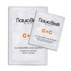 NATURA BISSE Антиоксидантная маска C+C - НАТУРА БИССЕ C+C ASCORBIC ACID MASK, (20 шт, 2г + 20 г)