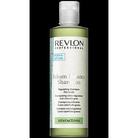 REVLON Шампунь регулир. д/жирной кожи головы РЕВЛОН Sebum Balance Shampoo 1250 мл