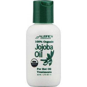 """AUBREY ORGANICS - Натуральное 100% масло """"Жожоба"""" (питание для сухих волос), 60 мл"""