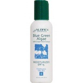 """AUBREY ORGANICS - Увлажняющий крем """"Сине-зеленые водоросли"""" с SPF15, 118 мл"""
