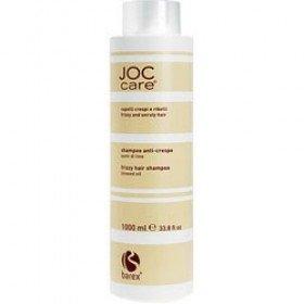 BAREX ITALIANA - Шампунь для вьющихся и непослушных волос с маслом семени льна - Shampoo frizzy and unruly hair with Linseed Oil, 1000 мл
