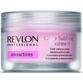 REVLON PROFESSIONAL - Крем для придания блеска окрашенным волосам - Color Sublime Treatment, 200 мл