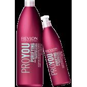 REVLON Шампунь для волос очищающий РЕВЛОН PRO YOU PURIFYING 350 мл