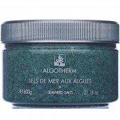 ALGOTHERM - МОРСКАЯ СОЛЬ СО СПИРУЛИНОЙ И ЛАМИНАРИЕЙ - Sels de Mer aux Algues, 600 г