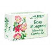 """AUBREY ORGANICS - Увлажняющее мыло """"Чилийская роза"""" для сухой кожи, 118 гр"""