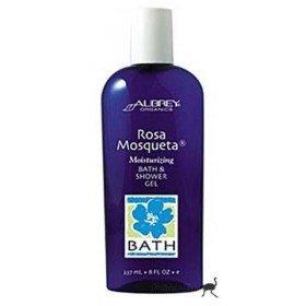 """AUBREY ORGANICS - Расслабляющий и увлажняющий гель для ванны и душа """"Чилийская  роза"""" 237 мл"""