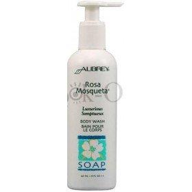 AUBREY ORGANICS - Мягкий гель д/душа Чилийская роза для сухой, чувствительной кожи, 237 мл
