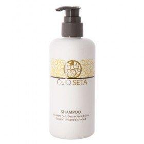 BAREX ITALIANA - Шампунь двойного действия с протеинами шёлка и экстрактом семян льна - Shampoo Silk and Linseed, 250 мл
